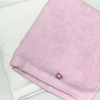 イマバリタオル(今治タオル)の今治タオル フェイスタオル ピンク2枚(タオル/バス用品)