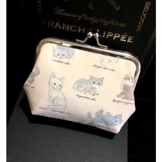 フランシュリッペ(franche lippee)のフランシュリッペ♡ねこ図鑑♡がま口 ハンドメイド(その他)