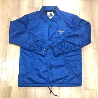 エクストララージ(XLARGE)のXLARGE コーチジャケット Mサイズ ブルー(ナイロンジャケット)