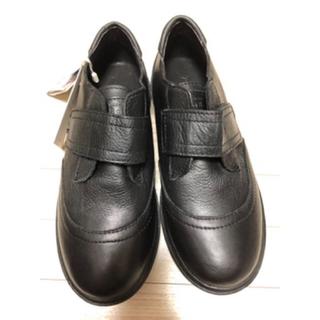 ザラキッズ(ZARA KIDS)の21.5 ZARA 黒革靴 男児(フォーマルシューズ)