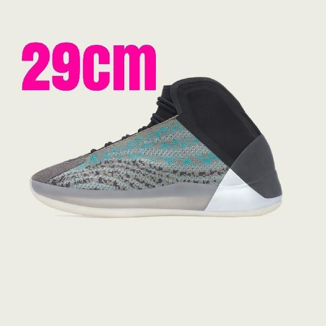 adidas(アディダス)のAdidas Yeezy QNTM Teal Blue 29cm メンズの靴/シューズ(スニーカー)の商品写真