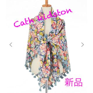 キャスキッドソン(Cath Kidston)の【新品】Cath kidston 花柄ショール(マフラー/ショール)