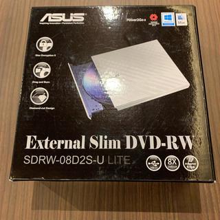 エイスース(ASUS)のASUS外付けDVDドライブ(PC周辺機器)