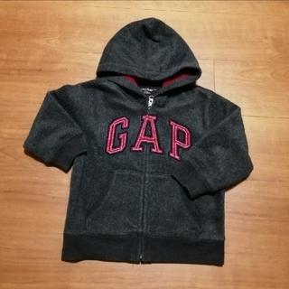 ギャップ(GAP)のGAP パーカー 100 ダークグレー(ジャケット/上着)