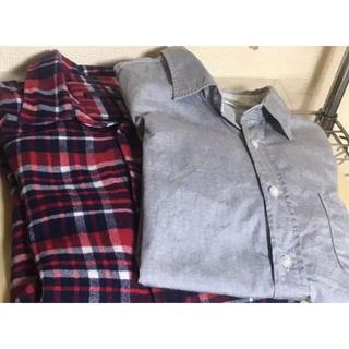 ハレ(HARE)のHARE ハレ 長袖シャツ ネルシャツ 2着セット  サイズS(シャツ)