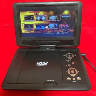 CCP 9インチポータブルDVD player   ccp-904bk(DVDプレーヤー)