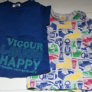 ムージョンジョン(mou jon jon)の男の子 80 Tシャツ  3枚(Tシャツ)