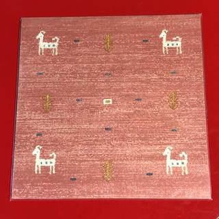 フェリシモ(FELISSIMO)の貼ってはがせる30cm角の壁紙シール ギャッベ柄(その他)