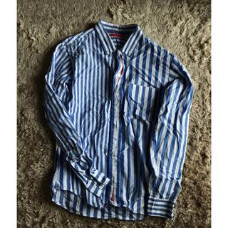 ストライプシャツ 日本製(シャツ)