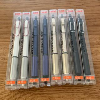 ミツビシエンピツ(三菱鉛筆)の新品 ジェットストリームエッジ 0.28mm 8本セット(ペン/マーカー)