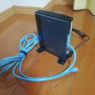 エヌイーシー(NEC)のWi-Fiルーター 3点セット(PC周辺機器)
