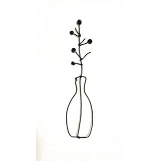 ワイヤークラフト 【瓶と木】(その他)