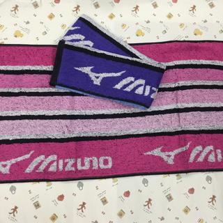 ミズノ(MIZUNO)のミズノ フェイスタオル  2枚セット(タオル/バス用品)