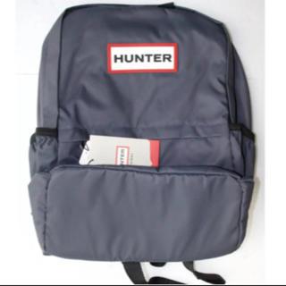ハンター(HUNTER)の【新品・タグ付き】HUNTER ナイロン スモール バックパック ネイビー(リュック/バックパック)