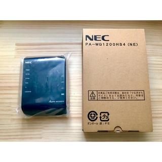 エヌイーシー(NEC)のAterm PA-WG1200HS4(NE)(PC周辺機器)