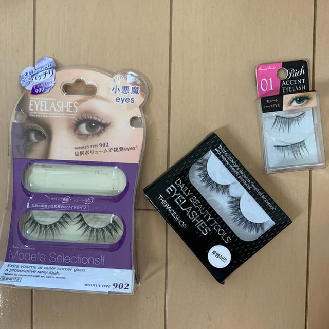 THE FACE SHOP(ザフェイスショップ)のつけまつげ 別売可 コスメ/美容のベースメイク/化粧品(つけまつげ)の商品写真