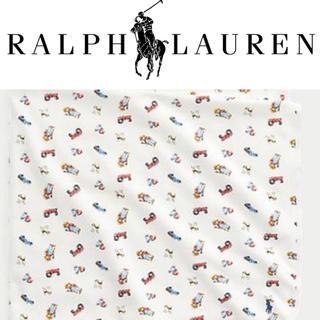 ポロラルフローレン(POLO RALPH LAUREN)の【ミル様専用】ファーマーポロベア  おくるみ、ロンパースセット(おくるみ/ブランケット)