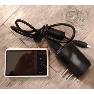 カシオ(CASIO)のカシオ デジタルカメラ デジカメ EXILIM EX-JE10 白 USED(コンパクトデジタルカメラ)