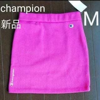 チャンピオン(Champion)の新品 チャンピオン ゴルフ フリース スカート 裏起毛 ピンク Mサイズ(ウエア)