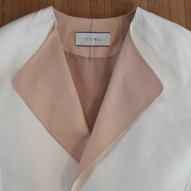 TOMORROWLAND(トゥモローランド)のDESPRESコットンノーカラーコート レディースのジャケット/アウター(トレンチコート)の商品写真