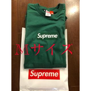 シュプリーム(Supreme)のシュプリーム   supreme  boxlogo グリーン M(Tシャツ/カットソー(半袖/袖なし))