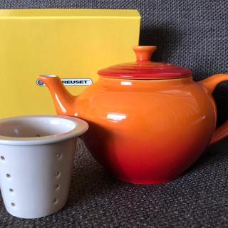ルクルーゼ(LE CREUSET)の新品*ル・クルーゼ*Tea Pot(食器)