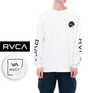 ルーカ(RVCA)のRVCA Lサイズ 秋冬モデル ルーカ  ロンT 長袖 Tシャツ ルカ パーカー(Tシャツ/カットソー(七分/長袖))