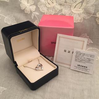 タサキ(TASAKI)のtasaki  ダイヤネックレス(ネックレス)