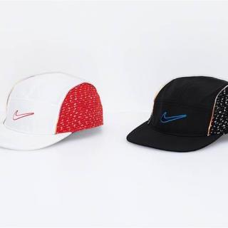 シュプリーム(Supreme)の新品 supreme nike boucl running cap white(キャップ)