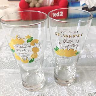 サンエックス(サンエックス)のリラックマ レモングラス2点セット、単品(グラス/カップ)