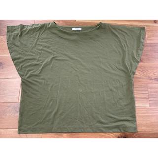 オペークドットクリップ(OPAQUE.CLIP)の袖切り替えTシャツ(Tシャツ(半袖/袖なし))