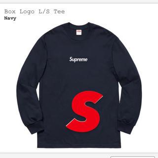 シュプリーム(Supreme)の【最安値】supreme Box Logo L/S Tee  ボックスロゴ(Tシャツ/カットソー(七分/長袖))