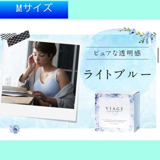 【新品・未使用♡】viage  ヴィアージュナイトブラ M ライトブルー(ブラ)