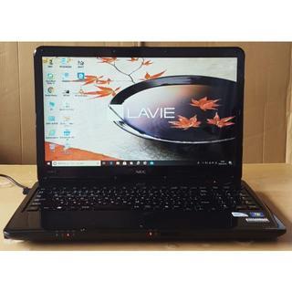 エヌイーシー(NEC)の美品Win10 LaVie LS150E/P6200/4G/750G/DVD(ノートPC)