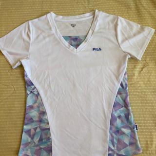 フィラ(FILA)の☆フィラ☆レディーステニスウェア、Mサイズ(Tシャツ(半袖/袖なし))