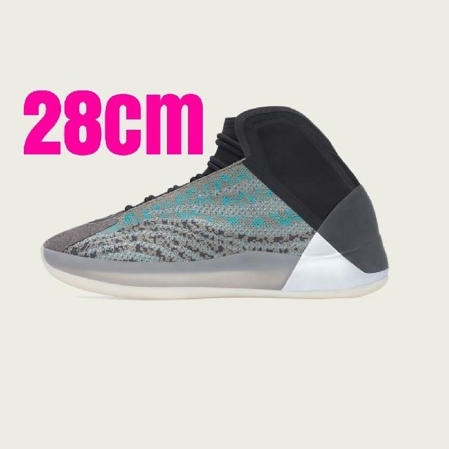adidas(アディダス)のAdidas Yeezy QNTM Teal Blue 28cm メンズの靴/シューズ(スニーカー)の商品写真