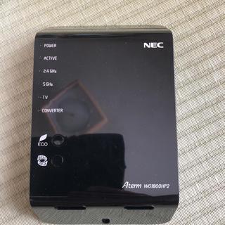 エヌイーシー(NEC)のNEC Aterm WG1800HP2るるち様専用(PC周辺機器)