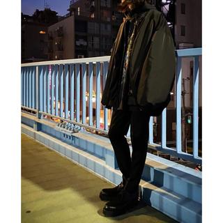 ラッドミュージシャン(LAD MUSICIAN)のlad musician big ma-1 ブラック(ブルゾン)
