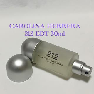 キャロライナヘレナ(CAROLINA HERRERA)のキャロライナヘレラ 212 オードトワレ スプレー 30ml 香水(ユニセックス)