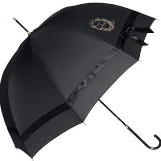 メゾンドフルール(Maison de FLEUR)のMaison de FLEUR  傘 ブラック 日傘(傘)
