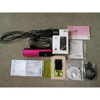 ソニー(SONY)のSONY ウォークマン NW-S785 16GB おまけ付き(ポータブルプレーヤー)