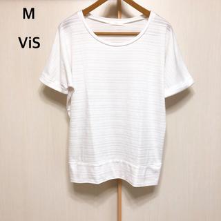 ヴィス(ViS)のM VIS トップス(カットソー(半袖/袖なし))