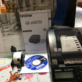 brother - 値下げ中!!brother P-TOUCH QL-650TD