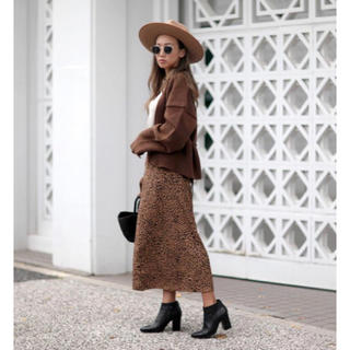 ルームサンマルロクコンテンポラリー(room306 CONTEMPORARY)のroom306  レオパードスカート(ロングスカート)