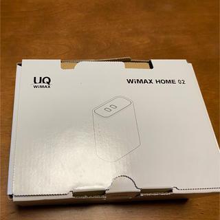 エヌイーシー(NEC)のUQ WiMAX HOME 02  NEC製(PC周辺機器)