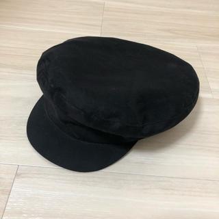 スナイデル(snidel)のそまり様専用 snidel   スナイデル スエードキャスケット 帽子(キャスケット)