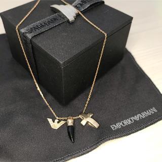 エンポリオアルマーニ(Emporio Armani)のyuyu69様専用「美品」Emporio Armani  ネックレス K10製(ネックレス)