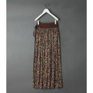 roku6  ペイズリー ロング巻きスカート(ロングスカート)