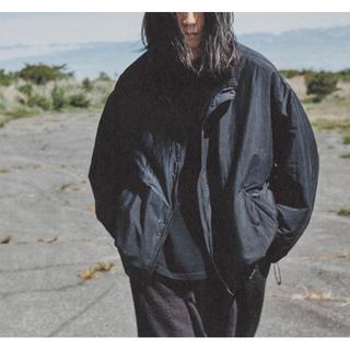 【事務局様専用】新品COMOLI ナイロショートジャケット ネイビー サイズ2 (ナイロンジャケット)