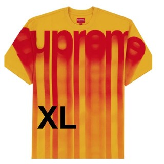 シュプリーム(Supreme)の新品本物XL Supreme Bleed Logo S/S Top シュプリーム(Tシャツ/カットソー(半袖/袖なし))